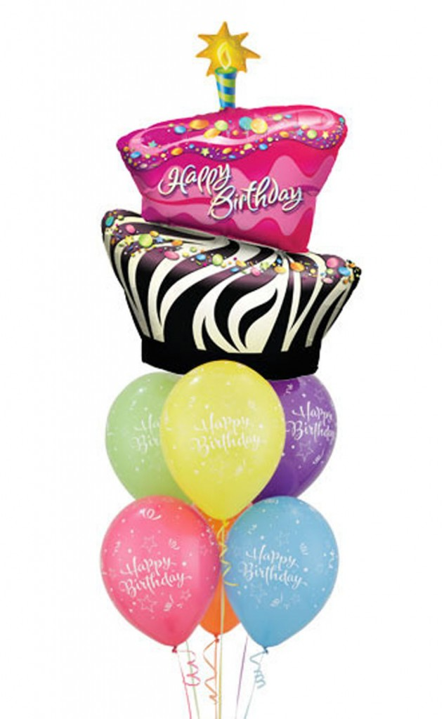 funky zebra birthday cake latex bouquet 59 00 funky balloons on birthday cake delivery gold coast